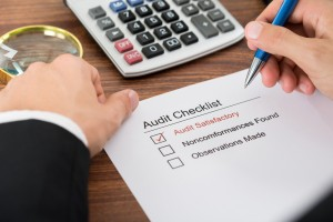 Audit Checklist Form